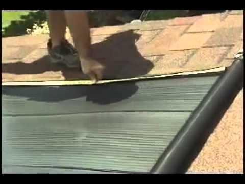 Colectores solares para piscina Techno Solis Clip 2
