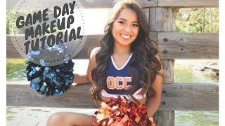 Cheer Game Day Makeup Tutorial
