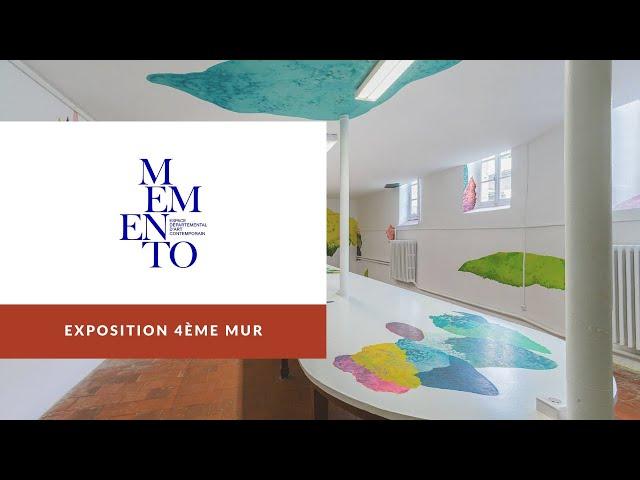 Teaser Exposition #4èmeMur à Memento