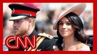 Harry and Meghan will no longer use titles His and Her Royal Highness