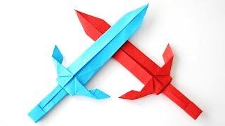 אוריגמי חרב