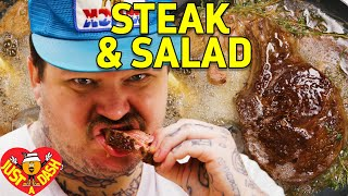 Drop Acid & Butter Baste Steaks | Matty Matheson | Just A Dash | EP 4