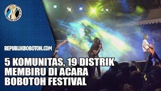 Lima Komunitas, 19 Distrik, Membiru di Acara Bobotoh Festival