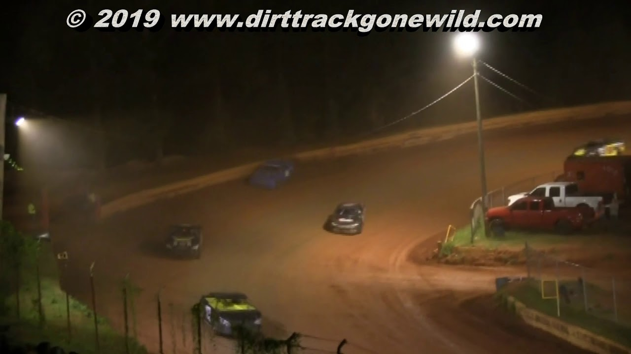 Stock 4 Main at Toccoa Raceway August 3rd 2019