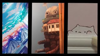 Tiktok Art Compilation #4 (Wall Edition)