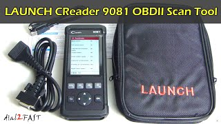 CReader 9081 Multifunction OBDII Scan Tool with TPMS / Brake / Oil Reset