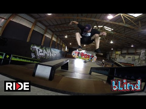Sewa and Micky Skate Woodward West -  Blind #DamnEdits