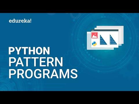 Python Pattern Programs | Printing Star Patterns in Python | Pattern ...