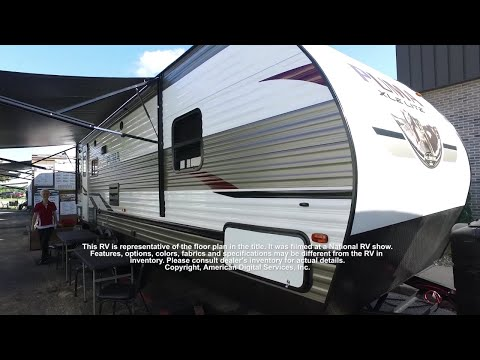 2019 Palomino Puma XLE Lite Rear Living at Campers RV Center, Shreveport, LA 71129