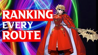 RANKING ALL 5 ROUTES in Fire Emblem: Three Houses Story