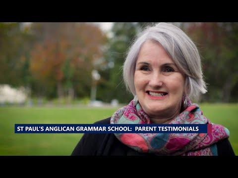 St Paul's Anglican Grammar School – Parent testimonial