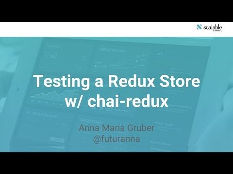 TL;DR chai-redux @ Munich Reactjs Meetup