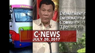 UNTV: C-News (July 20, 2018)