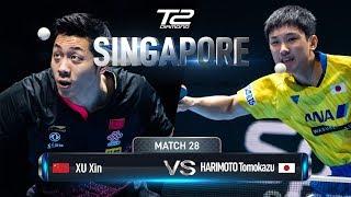 Xu Xin vs Tomokazu Harimoto | T2 Diamond 2019 Singapore (SF)