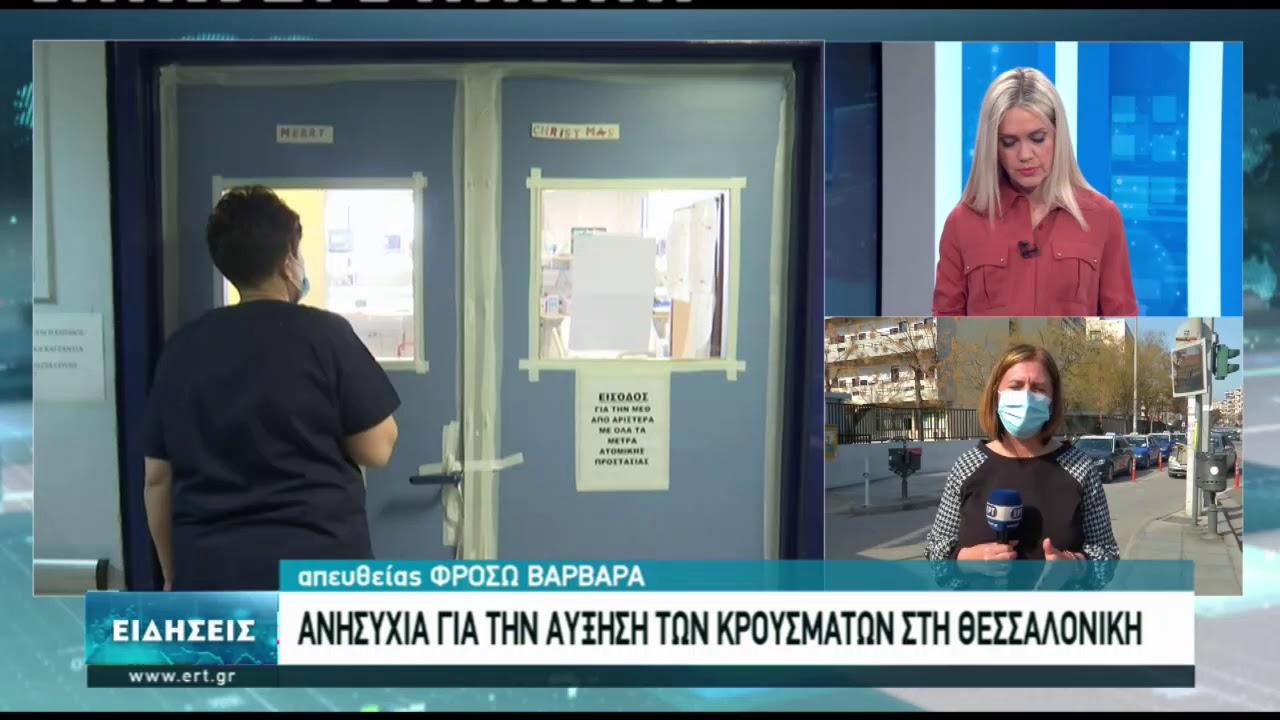 Δεν εμφανίζεται έξαρση στις εισαγωγές στα νοσοκομεία της Θεσσαλονίκης | 24/02/2021 | ΕΡΤ