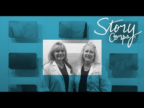 Two nurse practitioners talk about treating  infants exposed to opioids   StoryCorps
