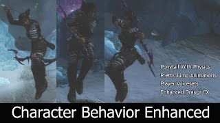 Character Behavior Enhanced