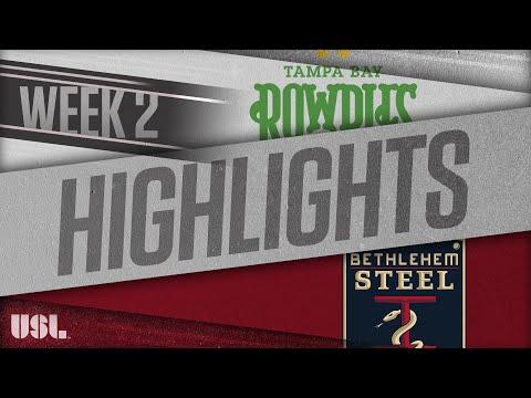 Tampa Bay - Бетлехем 2:0. Видеообзор матча 25.03.2018. Видео голов и опасных моментов игры