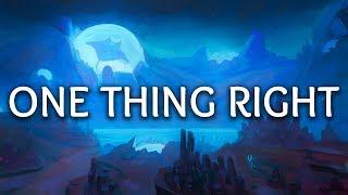 Marshmello ‒ One Thing Right (Lyrics) Ft. Kane Brown