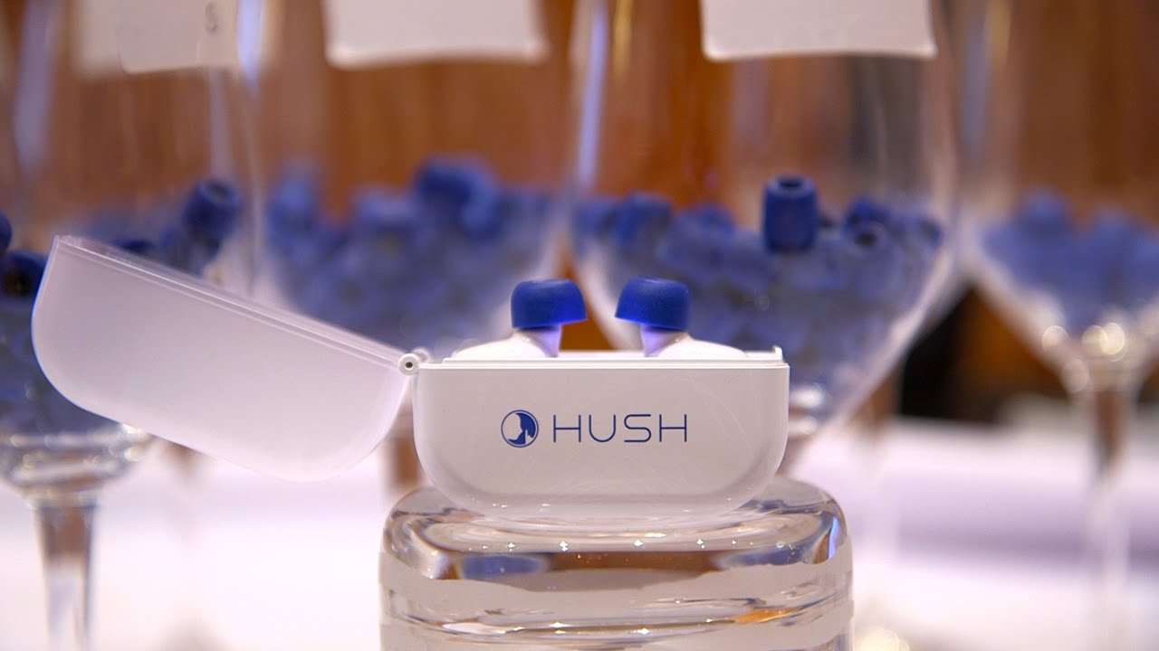Sleep through anything with the Hush earbuds — CES 2016 thumbnail