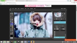 Blend với photoshop online