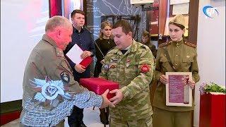 В зале воинской славы состоялась церемония передачи останков красноармейца из Алтайского края