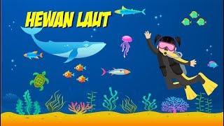 Belajar Mengenal Nama-nama Binatang Laut Bagian 1 | Bunbun Learning Sea Animals
