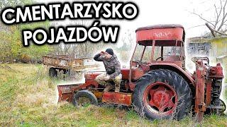 Cmentarz samochodów – Duchy PRL –