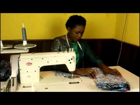 how to sew the traditional Nigerian Buba or blouse