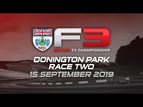 RACE 2 - DONINGTON - BRDC British Formula 3 Championship 2019
