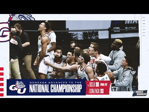 Gonzaga vs. UCLA – Final Four NCAA tournament extended highlights