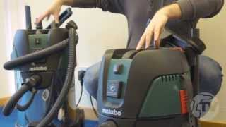 Metabo ASA 25 L PC & ASA 30 L PC Inox Vacuum/Dust Extractors