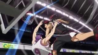 Seirin Vs Yosen - Meteor Jam & Kuroko's Block