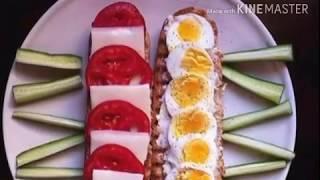 وجبات دايت صحيه مشبعه للفطار والغداء/ Diet meals are healthy for weight loss and slimming