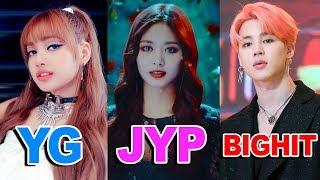 TOP 10 Most Viewed KPOP MVS of Each Agency