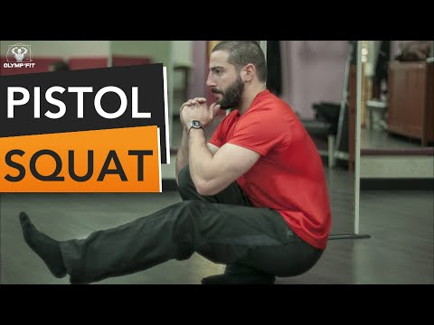 PISTOL SQUAT : Les exercices de progression pour le maîtriser ! (Squat d'une jambe)