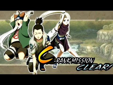 C-Rank Mission - Naruto: Ultimate Ninja Heroes