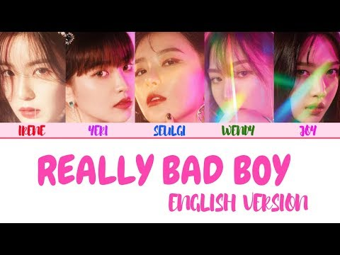 RED VELVET (레드벨벳) – 'RBB' 'Really Bad Boy (English Version)' LYRICS [ENG COLOR CODED] 가사