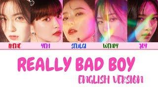 RED VELVET (레드벨벳) – 'RBB' 'Really Bad Boy (English Version)' LYRICS [ENG COLOR CODED] 가사