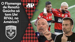 'Eu só vejo um time para brigar com o Flamengo na América, sabe qual?'; veja debate