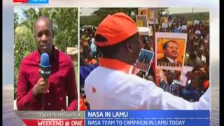 NASA pitches camp in Lamu after campaigns were stopped citing insecurity from Al Shabaab attacks