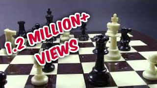 trick for black! fast win in 7 moves