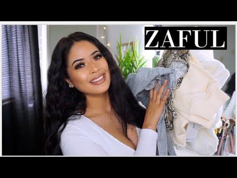 AFFORDABLE CLOTHING TRY ON  | ZAFUL  2019 HAUL |Taisha