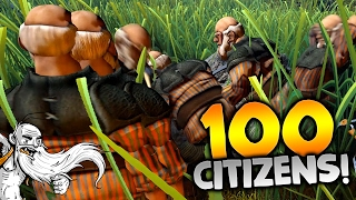 """Realm of Rulers Gameplay - """"MUDBUCKET HAS 100 CITIZENS!!!"""" Walkthrough Let"""
