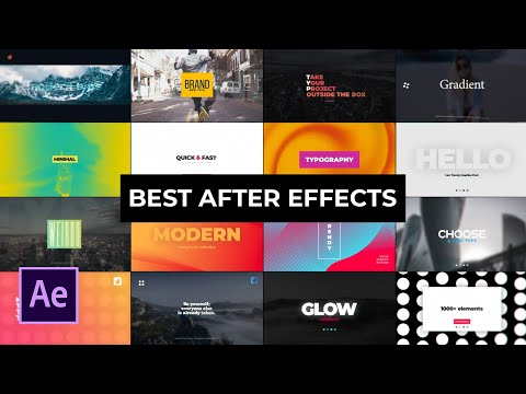 Best After Effects Templates Contest + 250 FREE Motion Graphics