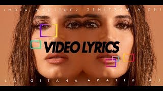 "India Martínez ""La Gitana"" Lyric Video"
