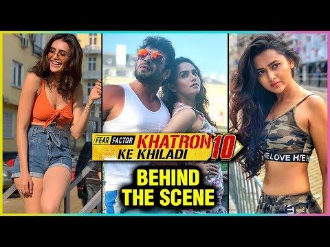 Khatron Ke Khiladi 10   Contestants Behind The Sce