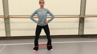 Turn Out Exercises and Ballet Specific Hip Strengthening