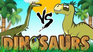Dinosaur Cartoons for Children | Elaphrosaurus & More | Learn Dinosaur Facts with I'm A Dinosaur
