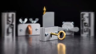 The Brilliant Lock and Key Puzzle - One of a Kind Mechanism!